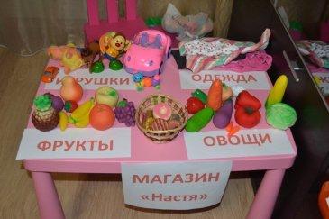 """Сюжетно-ролевая игра """"Магазин"""""""