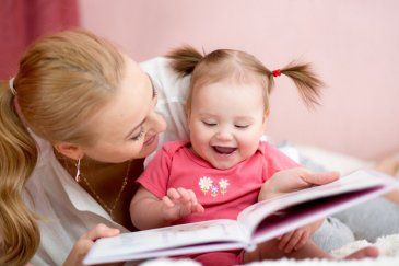 Teach your baby to turn the books pages