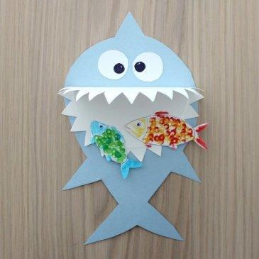 Забавная акула своими руками