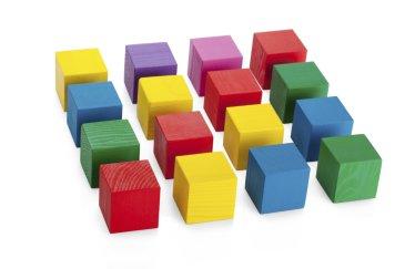 Sort Colorful Cubes