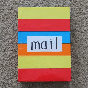 Make a mailbox with your kid!