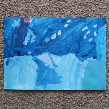 Paint Antarctica with your kid