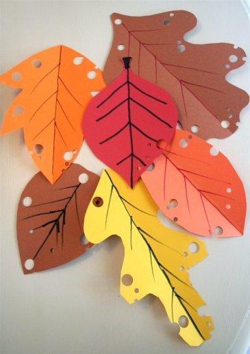 Разноцветные листочки