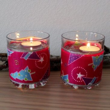 Decorate your home with Christmas Candles