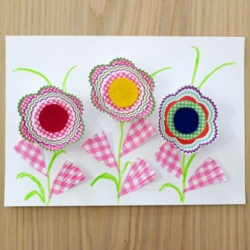 "Applique ""Magic Flowers"""
