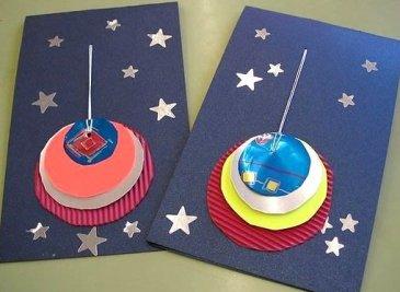 Сделайте с ребенком новогодние открытки