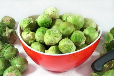 Рецепт: пюре из брюссельской капусты