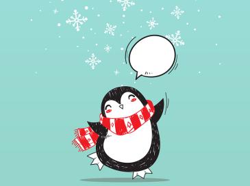 Сделайте вместе с ребенком новогоднюю открытку