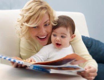 Choose time to read your baby