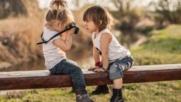 Научите ребенка фотографировать
