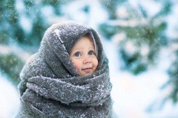 Как одеть новорожденного на прогулку: холоднее –10 °C