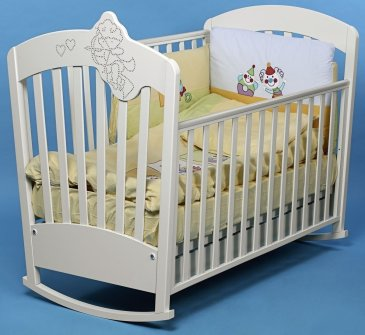 The baby cot