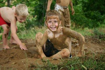 Устройте День грязи!