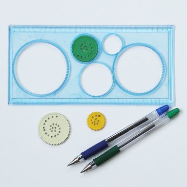 Offer your kid to draw with Spirograph!