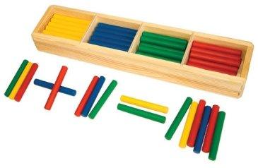 Игры с геометрическими фигурами и счётными палочками