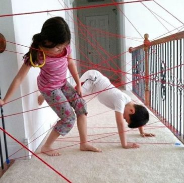 Make an obstacle course
