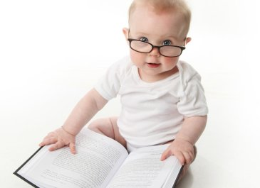 Make your baby's first library