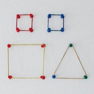 Изучите с ребенком геометрические фигуры