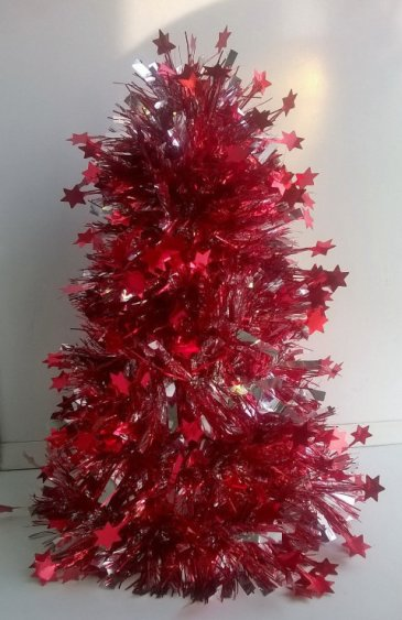An easy way to make a Christmas Tree