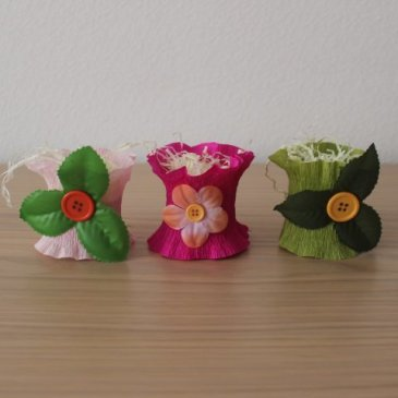 Make cute eggcups