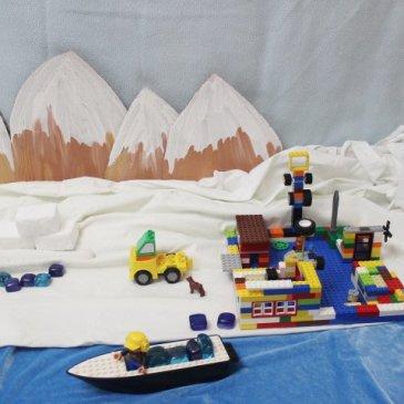 """Сделайте вместе с ребенком игровую зону """"Антарктида"""""""