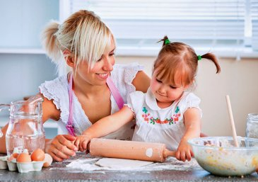 Tips to cook with kids