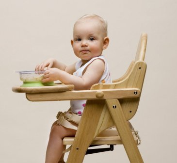 A feeding chair for your baby