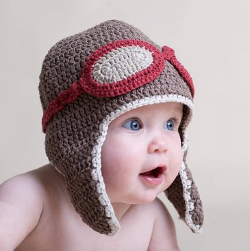 Teach your baby to wear hats