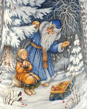 Прочитайте ребенку сказку «Морозко»