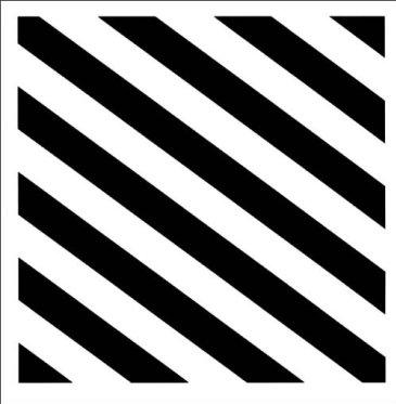 Contrasting stripes