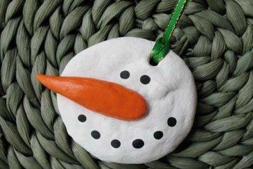 """Pendant """"The Snowman"""""""