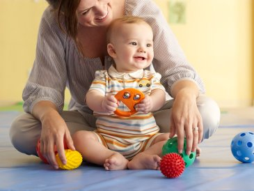 Have your baby pay attention to different sounds