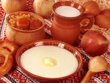 Apple oats porridge for baby