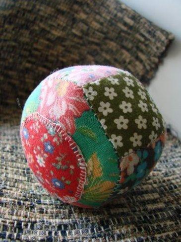 Лоскутные мячики