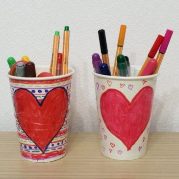 Design Cups for St. Valentine's Day!