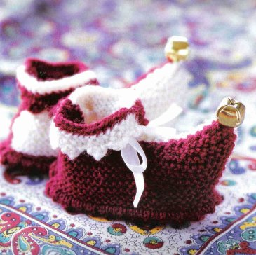 Booties with little bells