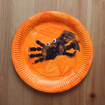 Your Cute Halloween Spider Craft