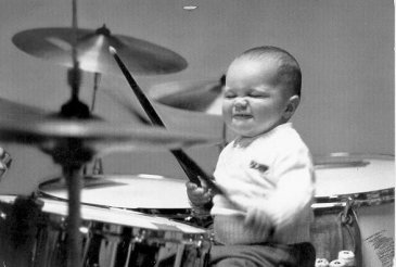Drumming Baby