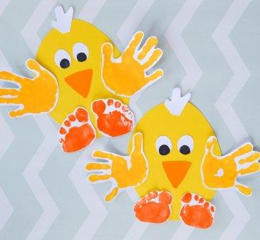 Весёлые цыплята