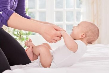 Гимнастика для малышей в 7-8 месяцев