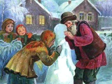 Прочитайте ребенку сказку «Снегурочка»