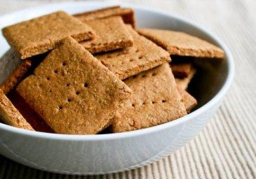 Полезные рецепты для мамы: «Цельнозерновой крекер»