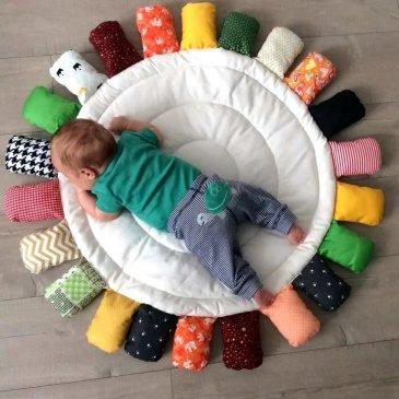 Развивающий коврик-подсолнух