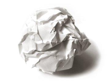 Let's rustle a sheet of paper!