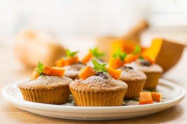 Полезные рецепты для мамы: «Тыквенные кексы»