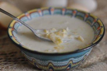 Рецепт: Суп молочный с кабачками