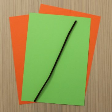Сделайте вместе с ребенком тыкву из бумаги
