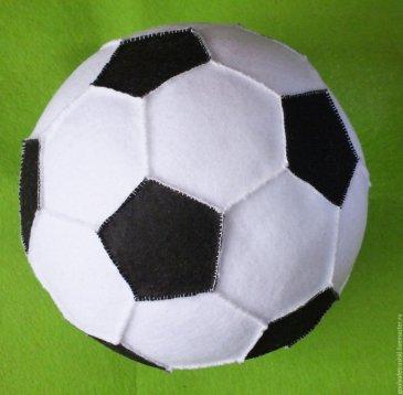 Футбольный мяч для крохи
