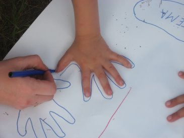 Trace your Hand - And get creative!