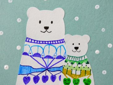 Новогодние медвежата